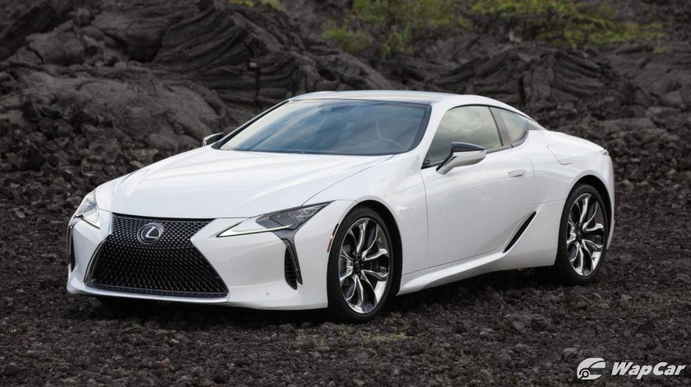 Refreshed 2020 Lexus LC Coupe, lighter and more comfortable 01