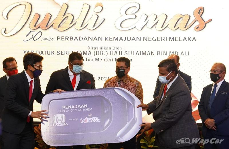 Honda Malaysia presents all-new Honda City RS to Invest Melaka Berhad (IMB) 02