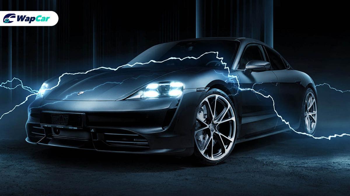 First tuner electric car? TECHART refines the Porsche Taycan 01