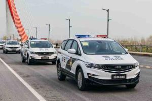 Geely delivers 30 units of the Geely Jiaji to Chinese police department