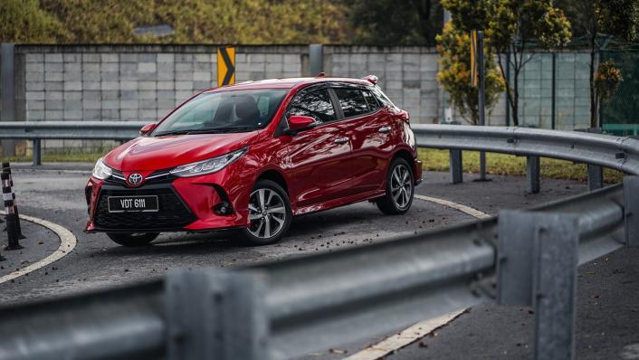 2021 Toyota Yaris 1.5G Exterior 006