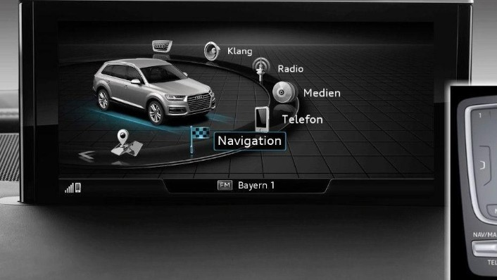 Audi Q7 (2019) Interior 010