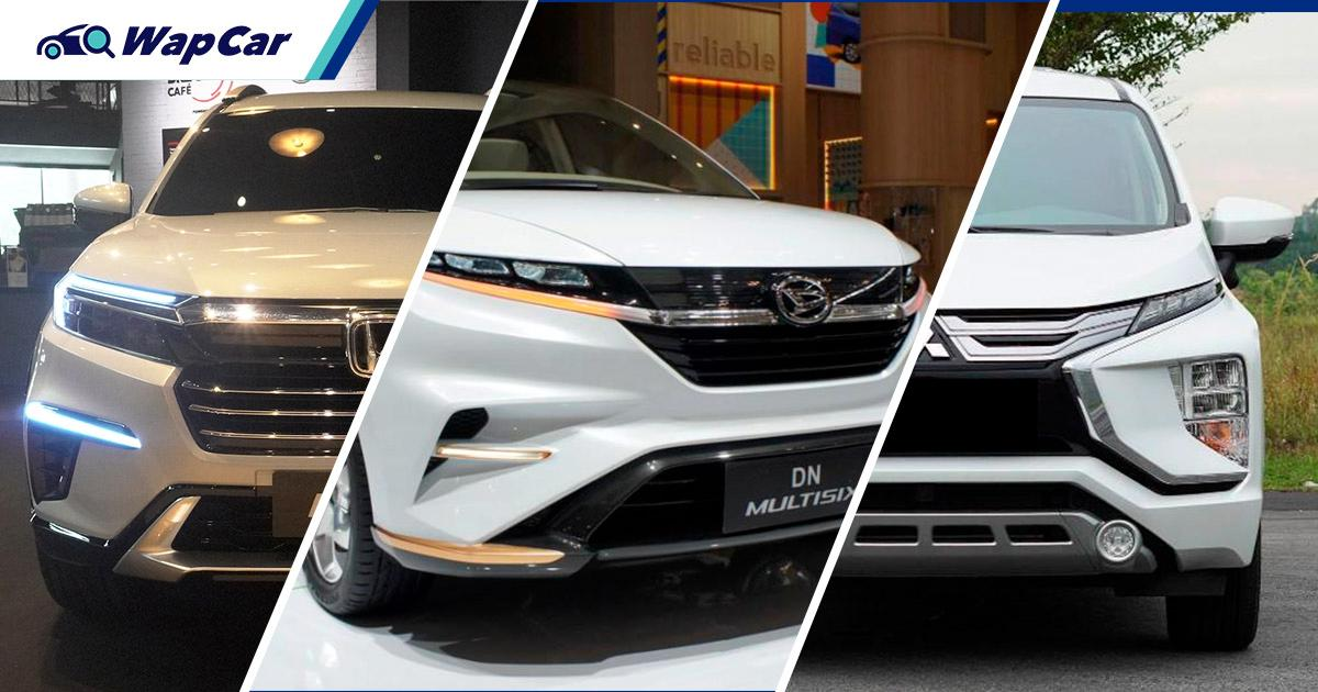 7-seaters under RM100k launching in 2022, Alza, Avanza, BR-V, Xpander 01