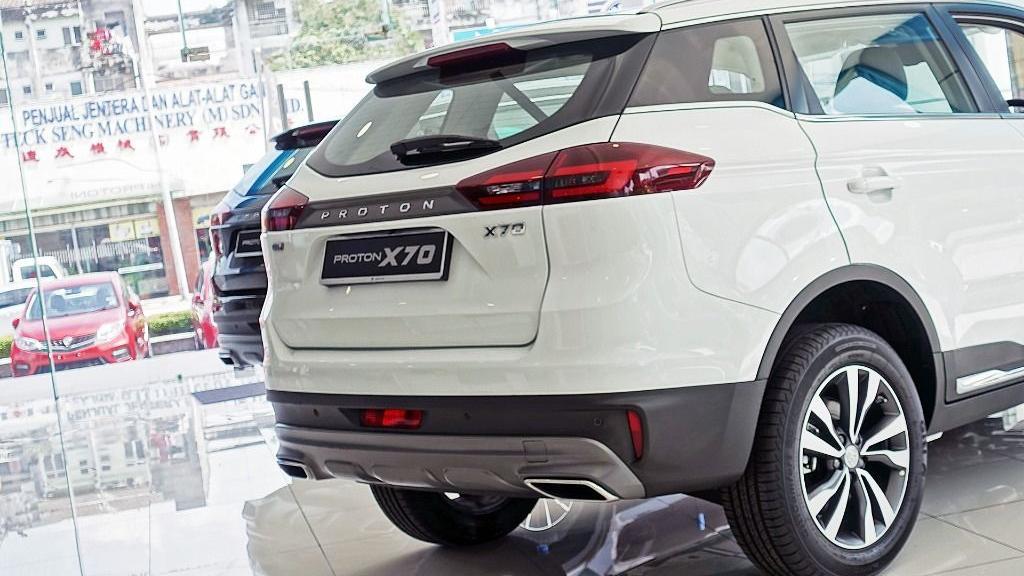2018 Proton X70 1.8 TGDI Executive AWD Exterior 030