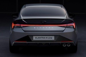 New 2021 Hyundai Elantra N Line sport sedan teased