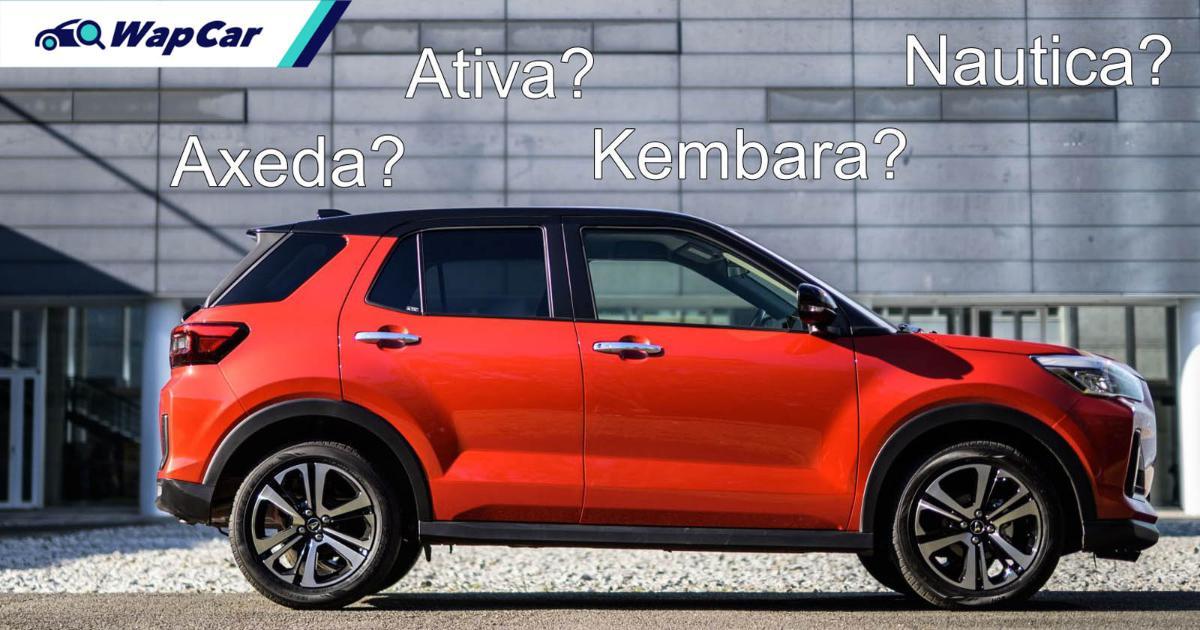 Perodua Ativa或Axeda——2021 Perodua D55L还可能会叫什么? 01