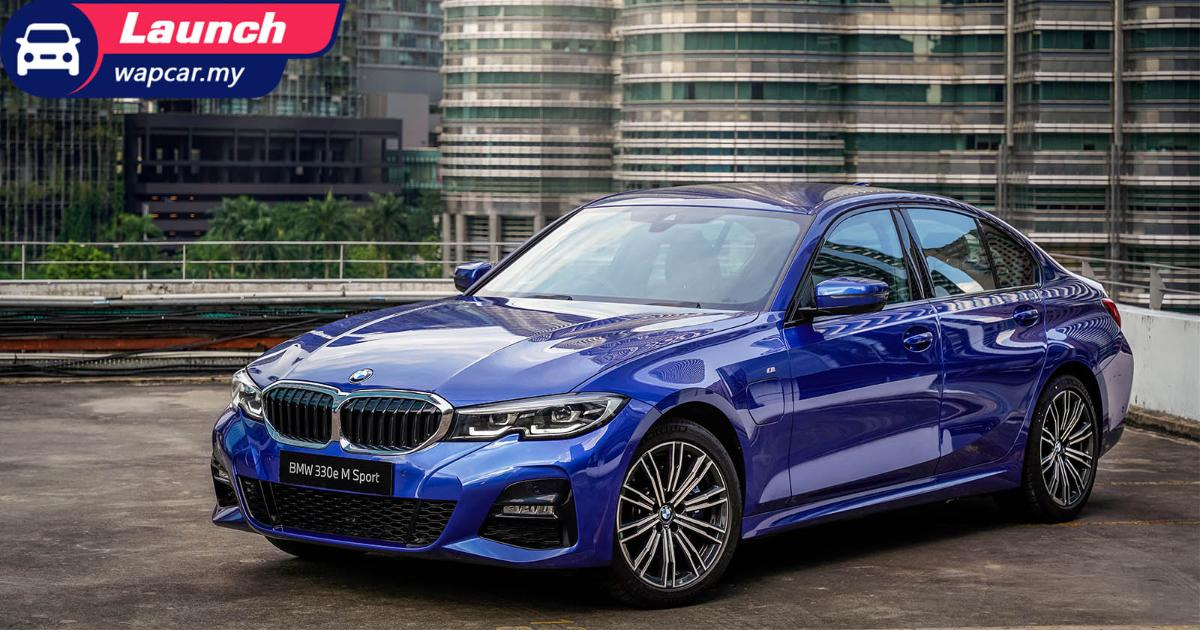 New locally-assembled 2020 G20 BMW 330e M Sport launched in Malaysia – From RM 264k 01