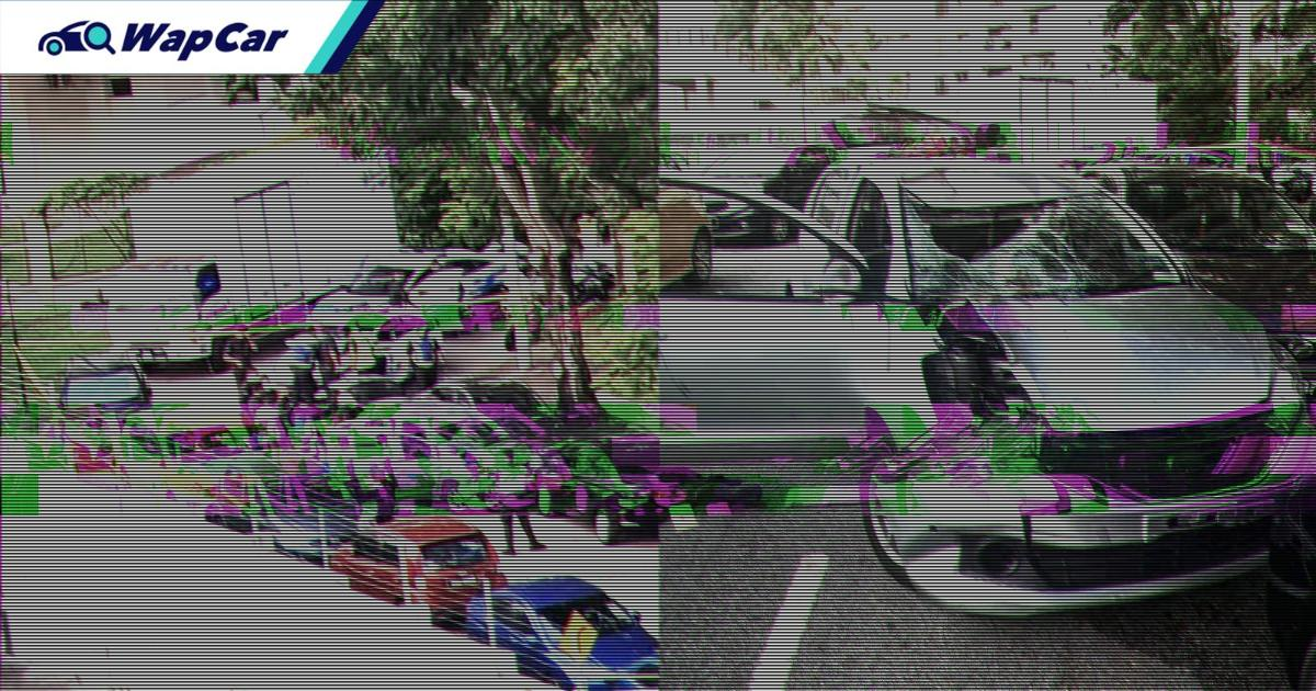 Intoxicated Perodua Myvi driver leads PDRM on a deadly chase around Penang 01