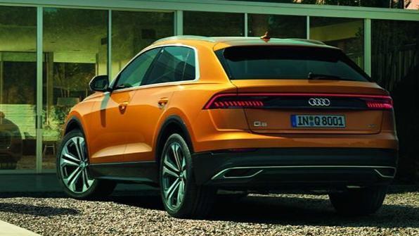 Audi Q8 (2019) Exterior 004