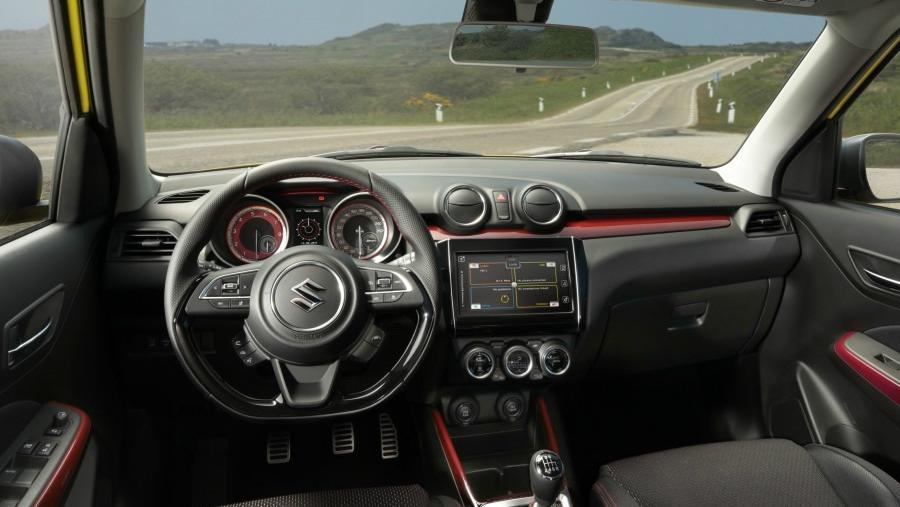 Suzuki Swift Sport (2014) Interior 001