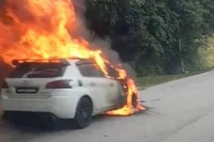 Nasim released official statement regarding burning Peugeot news stories
