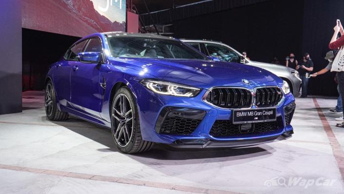 2020 BMW M850i xDrive Gran Coupe Exterior 003