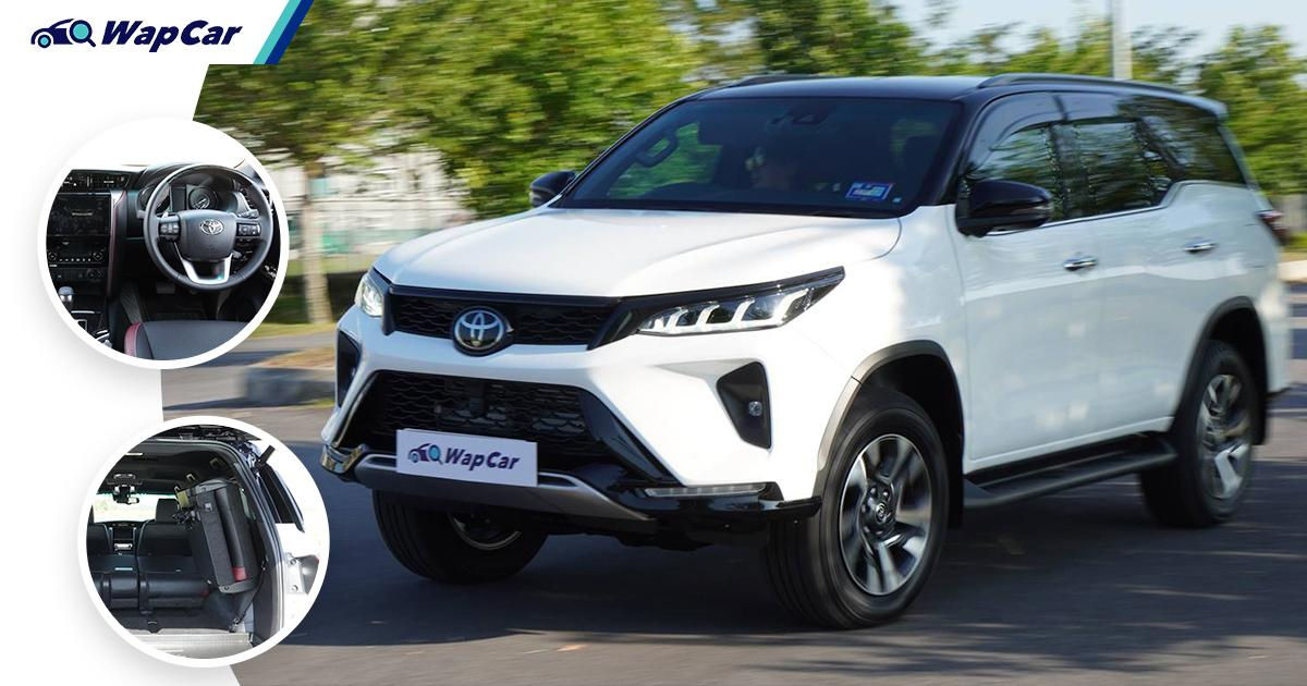 Pros and Cons: 2021 Toyota Fortuner 2.8 VRZ - Floods aren't a problem, but your stuff might be 01