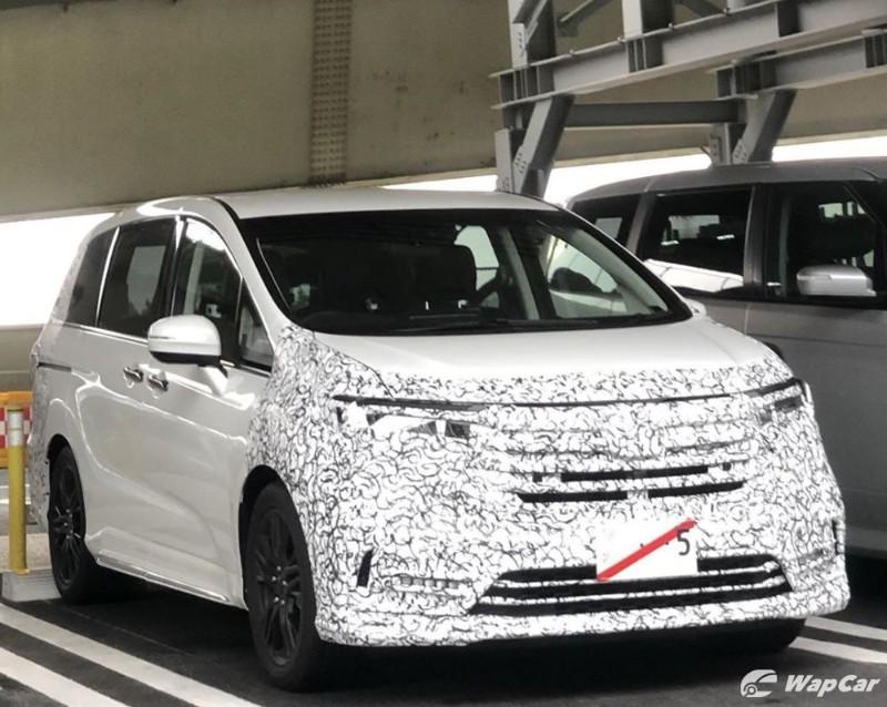 Spyshot: Facelift kedua untuk Honda Odyssey, akan tiba di Malaysia pada 2021? 02