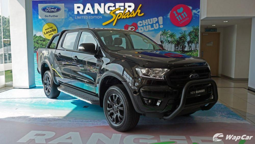 Limited Edition Ford Ranger Splash launched in Malaysia, available only on Lazada 01