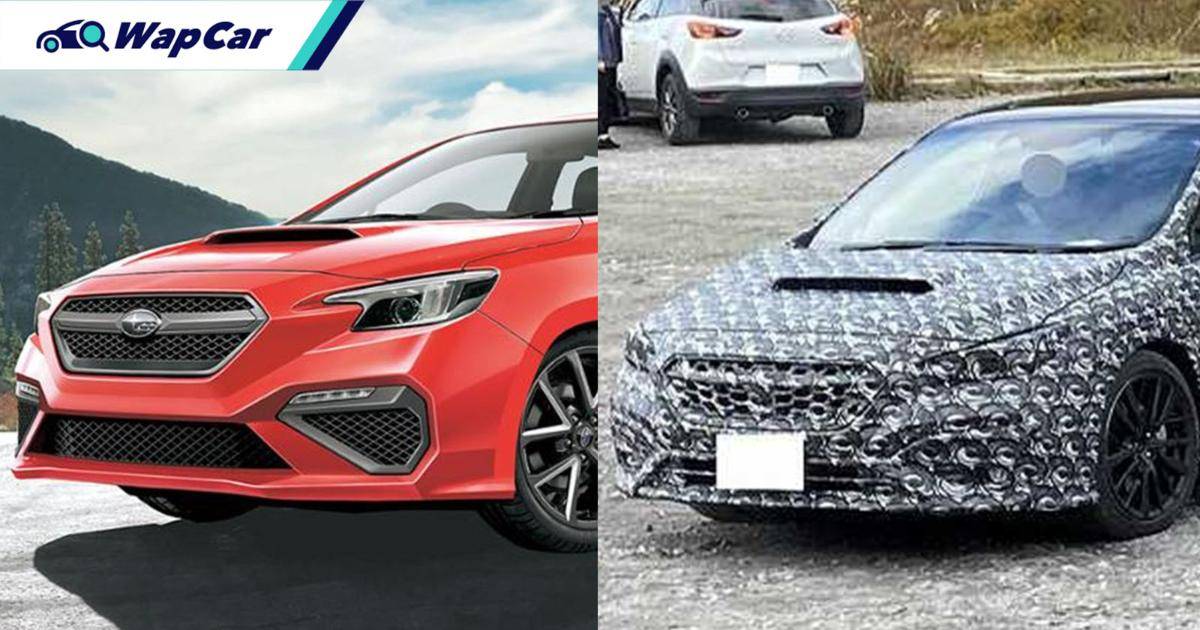 Spied – All-new 2021 Subaru WRX mixing elegance with sportiness? 01