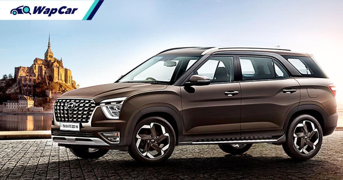 Aruz-rivalling, ASEAN-bound 2021 Hyundai Alcazar unveiled in India 01