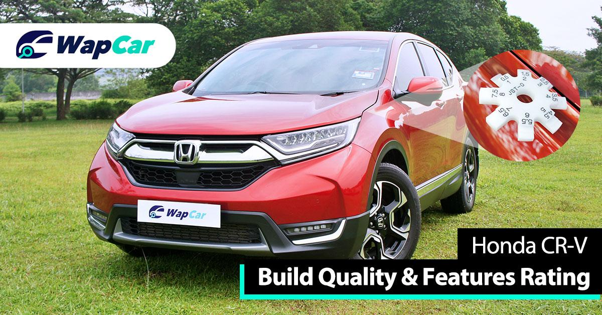 Ratings – Honda CR-V's build quality and features, high marks for features 01