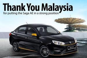 2020 Proton Saga Anniversary Edition - all 1,100 units sold out in 5 days!