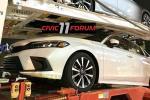 Spyshot: Honda Civic FE 2022 versi atas jalan diintip dalam penghantaran!