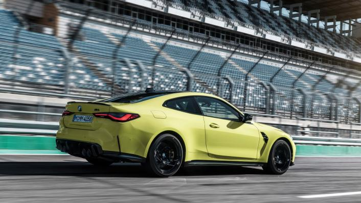 2021 BMW M4 Competition Coupe Exterior 008