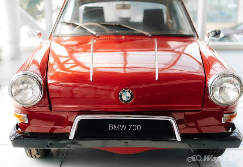 BMW dealer presents rare BMW 700 Coupe in Kuching 02