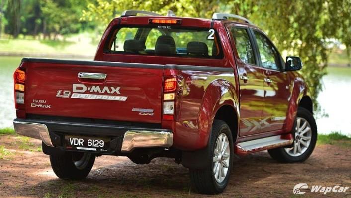 2019 Isuzu D-MAX 1.9L 4x4 AT-P Exterior 005