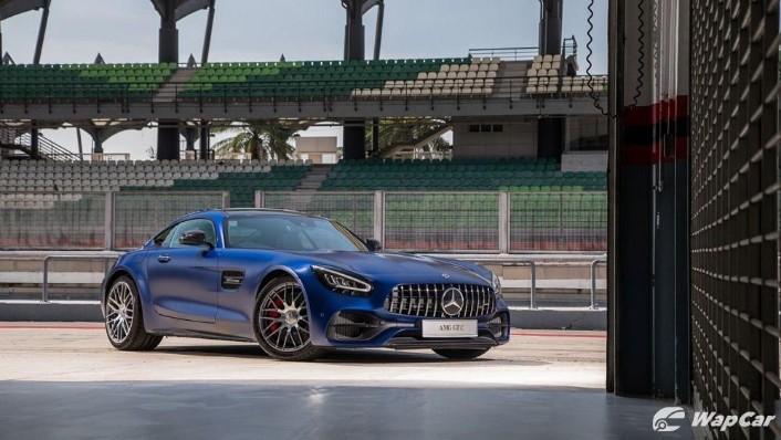 2019 Mercedes-Benz AMG GT C Exterior 001
