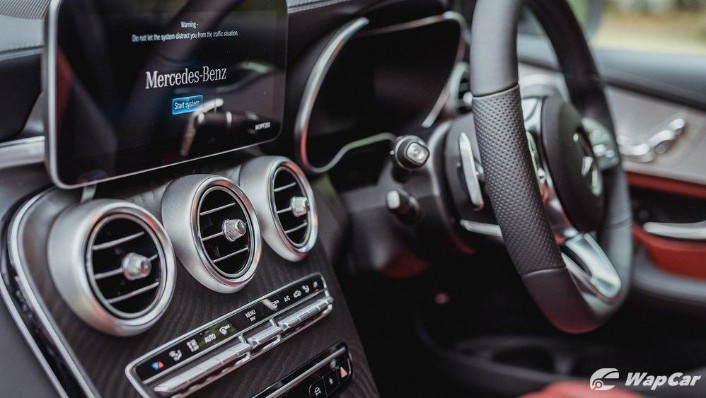 2020 Mercedes-Benz GLC 300 4MATIC Coupé Interior 004