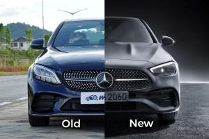Old vs New: 2021 Mercedes-Benz C-Class (W206), like the new design better?