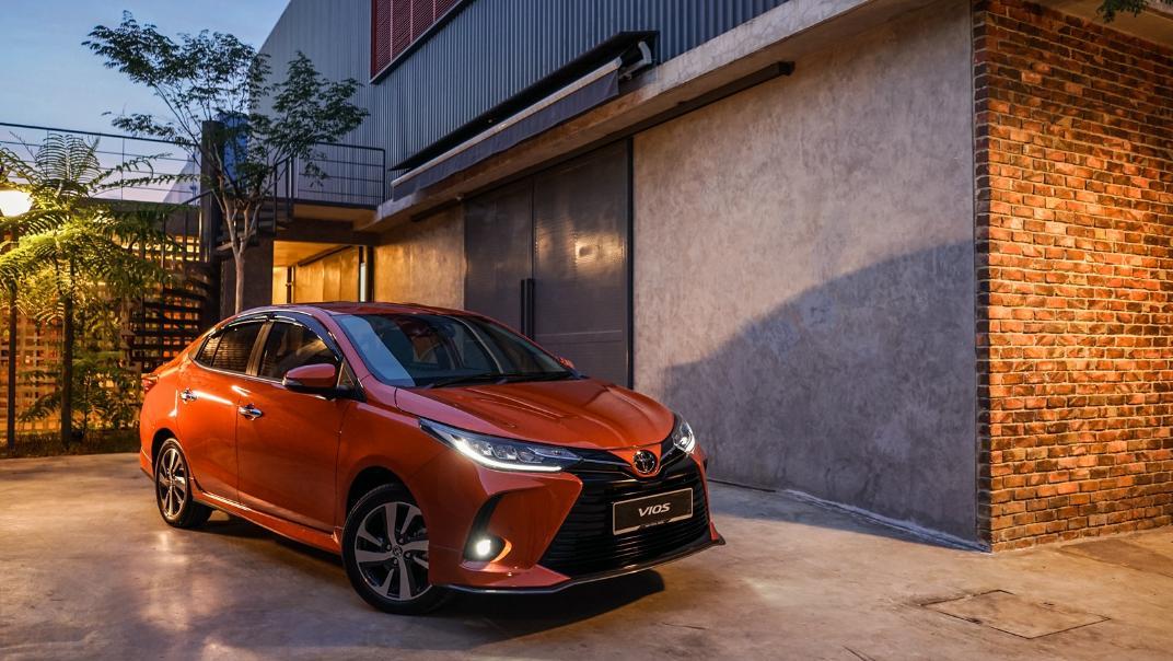 2021 Toyota Vios 1.5E Exterior 005